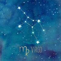 Star Sign Virgo Fine-Art Print