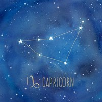 Star Sign Capricorn Fine-Art Print