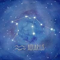 Star Sign Aquarius Fine-Art Print