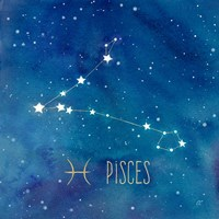 Star Sign Pisces Fine-Art Print
