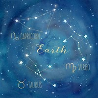 Star Sign Earth Fine-Art Print