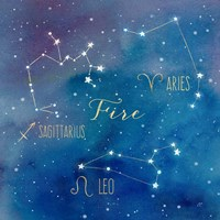 Star Sign Fire Fine-Art Print