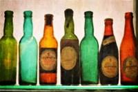 Vintage Guiness Bottles Fine-Art Print