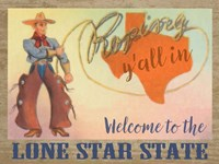 Lone Star State Fine-Art Print