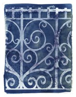Wrought Iron Cyanotype I Fine-Art Print
