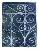 Wrought Iron Cyanotype II Fine-Art Print