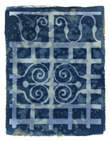 Wrought Iron Cyanotype III Fine-Art Print