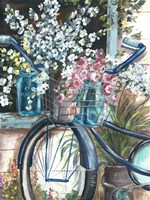 Vintage Bike and Mason Jar Fine-Art Print
