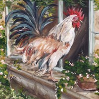 French Country Rooster Fine-Art Print