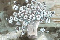 Farmhouse Cotton Bolls Still life Fine-Art Print