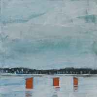 Icefishing Village Fine-Art Print