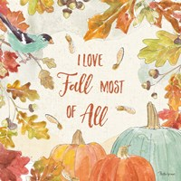 Falling for Fall III Fine-Art Print