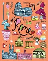 Travel Rome Fine-Art Print