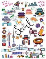 Travel Seoul Fine-Art Print