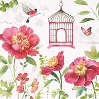 Pink Garden IV Fine-Art Print