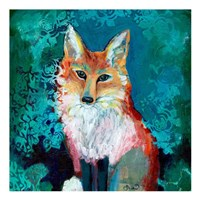Shy Fox Fine-Art Print