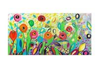Flower Garden Jazz Fine-Art Print
