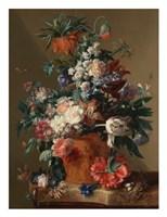 Jan van Huysum, Vase of Flowers Fine-Art Print