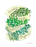Parsley Sage Rosemary Thyme Fine-Art Print