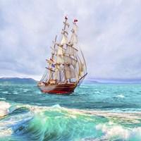 Sailing The Ocean Fine-Art Print