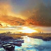 Sun Down Light Fine-Art Print