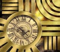 Art Deco Clock Fine-Art Print