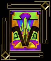 Art Deco Design 5B Fine-Art Print
