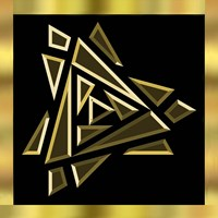 Black And Gold 9 Fine-Art Print