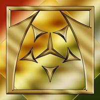 Brass Design 2 Fine-Art Print
