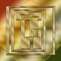 Brass Design 8 Fine-Art Print