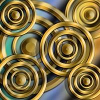 Circles 3D Fine-Art Print