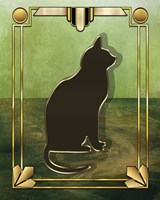 Deco Cat 1 Fine-Art Print