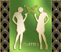 Art Deco Flappers Fine-Art Print