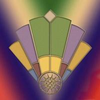 Art Deco Fan 2 Fine-Art Print