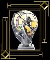 Art Deco Lamp Fine-Art Print