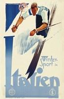 Winter Sport in Italien Fine-Art Print