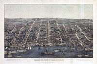 Alexandria Va Forts Built To Defend Washington - Civil War 1863 Fine-Art Print
