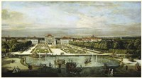 Baroque Nymphenburg Palace By Bernardo Bellotto 1760 Fine-Art Print