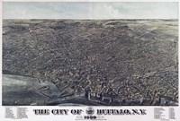 Map Of The City Of Buffalo Ny 1880 Fine-Art Print