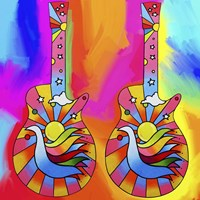 Guitars Dove Fine-Art Print
