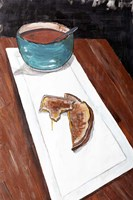 Grilled Cheese And Tomato Soup Fine-Art Print