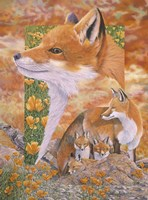 Foxes Fine-Art Print