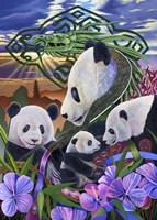 Panda Play Fine-Art Print
