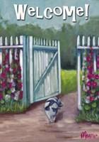 Daisy Smelling Flowers Fine-Art Print