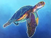 Sea Turtle - Rainbow Fine-Art Print