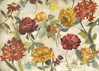 Layered Flowers Fine-Art Print