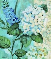 White Hortensia Fine-Art Print
