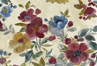 Marsala Flowers Fine-Art Print
