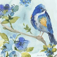 Bird On Branch 2 Fine-Art Print