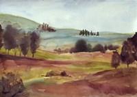 Watercolor Landscape Fine-Art Print